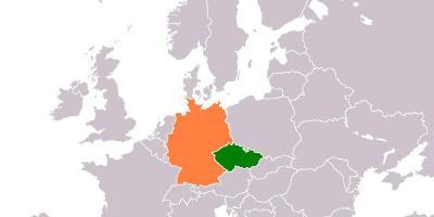 dou avrupa avrupaalmanya ve ek cumhuriyeti haritas ek cumhuriyeti harita ve almanya